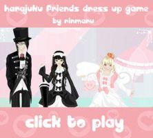 Harajuku friends dress up game by Rinmaru
