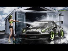 Mini one SuperGT_5 by yasiddesign
