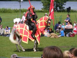 Jousting - Knight 95 by Axy-stock