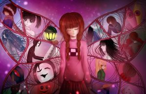 The wings of memories//Yume Nikki by soshi185