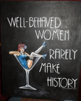 well behaved women by greenbaypara
