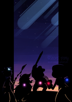 We... are the Crystal Gems by secret-pony