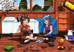 Terra and Aqua kids by SailorMiha