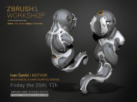 The Leech - ZBrush UGM, Zagreb 2014 by moth3R