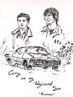 SPN calendar 2013 - carry on by NikitaLaChance