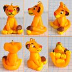 clay young Simba by cihutka123