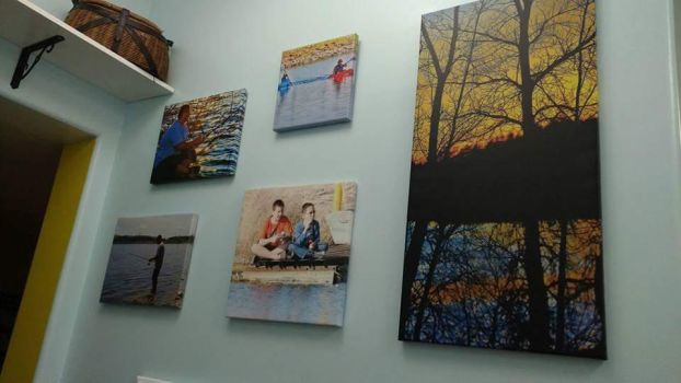 'Canvas Photo Wall' by KellySeale