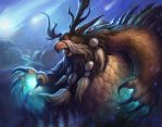 World of Warcraft TCG - Moonkin by Murph3