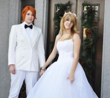 Panty and Briefers wedding by mei-chama