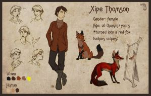 Xipe Thomson Sheet by Culpeo-Fox