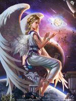 Cosmic planetary angels1 by liangxinxin