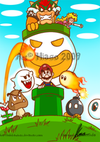 Mario Over -2009 Version by MKDrawings
