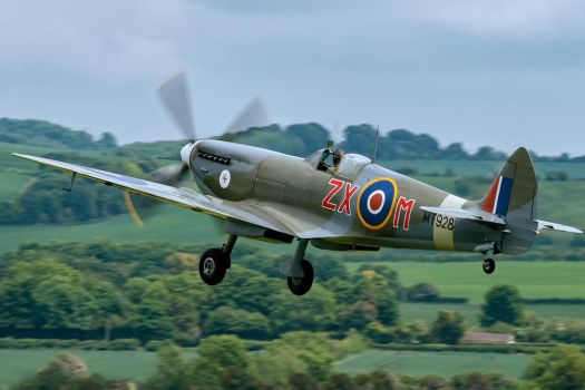 Supermarine Spitfire HF.VIIIc by Daniel-Wales-Images