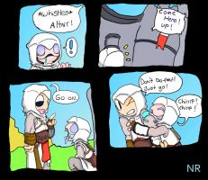 Nightmare Assassin's Creed P42 by MilkToothCuts