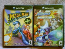 Mega Man's Collections by shnoogums5060