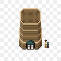 PKMN BW Huin City Tiles WIP by spaceemotion