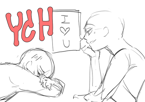 [CLOSED] Couple YCH4 Auction by donutisgreen