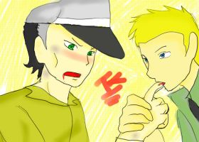 Vhat are you doing Dempshey? by shikatemalover