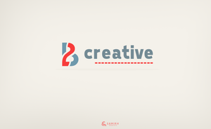 2B Creative logo by thesamirH