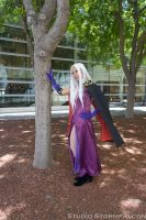 Urd by the Tree by Stormfalcon