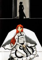 Bleach - Waiting for him by KeikoWolfgirl