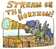 Stream on the Horizon! by Jovey4
