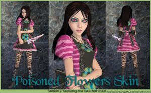 A:MR Skin - Poisoned Flowers by EvanescentAngel666