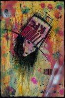 The Head of Buckethead by Ahkmar