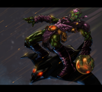 Green Goblin by DeonN