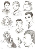 Inception sketches by Sefi
