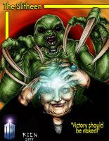 The Slitheen by magnetic-eye