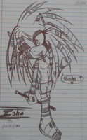 Isha the Porcupine -TAKEN- by RidiculousRickolous