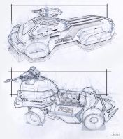 Vehicle Sketches by zakforeman