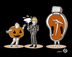 Turnpike Halloween Art 1 by cmbarnes