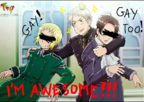 Yes Prussia, you're not gay by TayaNoa