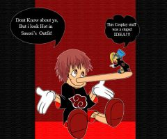 Pinochio's Cosplay of Sasori by Chibi-Kawaii