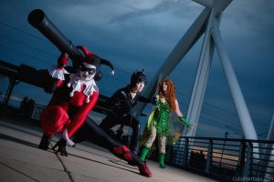 Gotham City Sirens by PuppetsFall