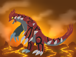 Groudon by SinisterIdol