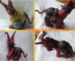 my little pony as Hellboy by AmbarJulieta