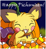 Happy Pichuween! by pichu90