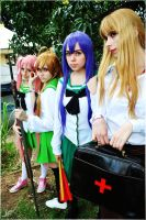 HOTD - High School of the Dead by cosplayculture