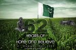 62 Years of HOPE AND BELIEVE by Qureshi-Designerz