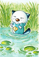 PKM - Oshawott by Wingsie