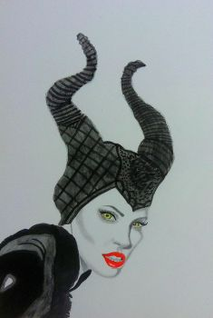 Maleficent by mellany23
