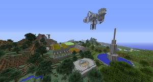 Yet Another Minecraft Village by jehuty789