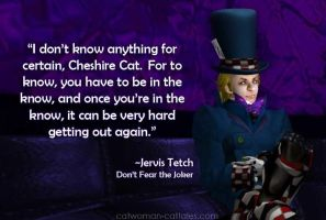 Mad Hatter: In the Know by chrisdee
