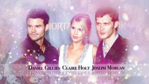 Joseph, Claire and Daniel by JacobBlacksPrincess