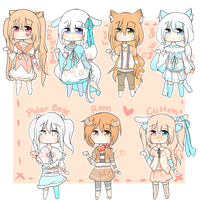 Kemonomimi Adoptable BATCH 10 by KokoMall