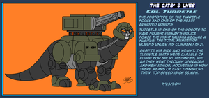 The Cats' 9 Lives! Bio Colonel Turretle by TheCiemgeCorner