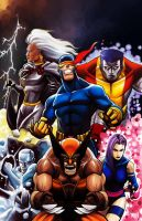 X-Men by MasonEasley
